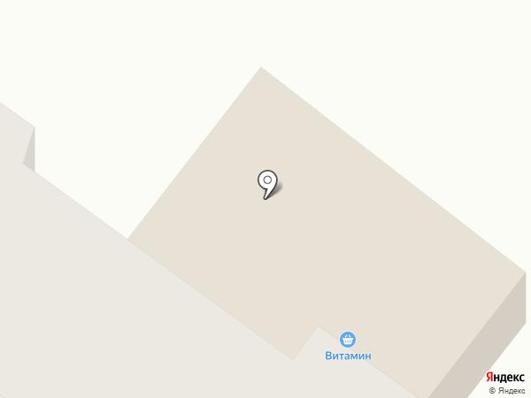 Витамин на карте Норильска