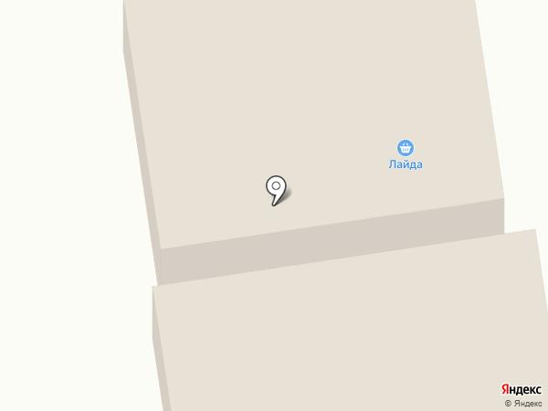 Лайда на карте Норильска