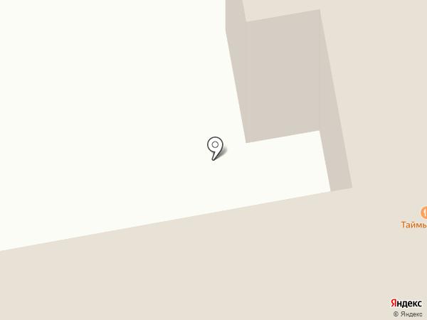 Таймырский на карте Норильска