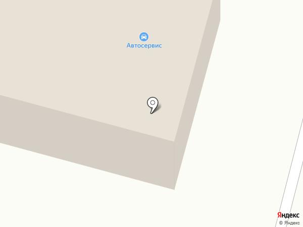 Автосервисная мастерская на Вокзальной на карте Норильска