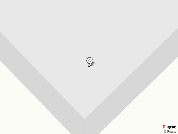 Автостоянка на ул. Нансена на карте Норильска