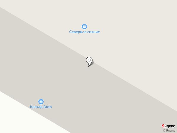 Улыбка на карте Норильска