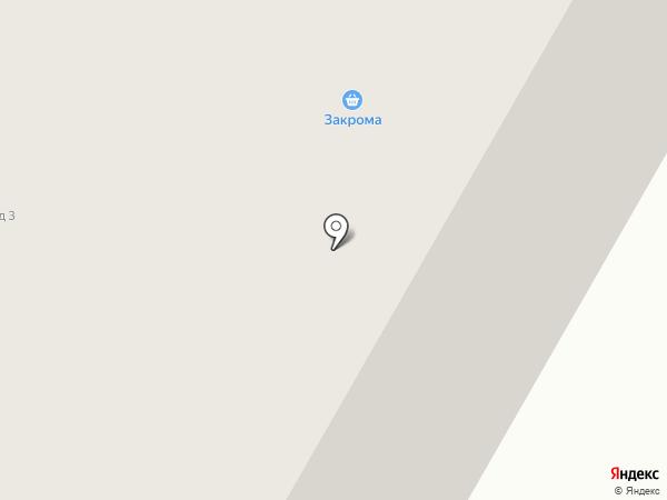 Закрома на карте Норильска