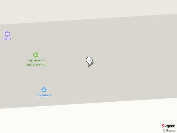 Сузанна на карте Норильска