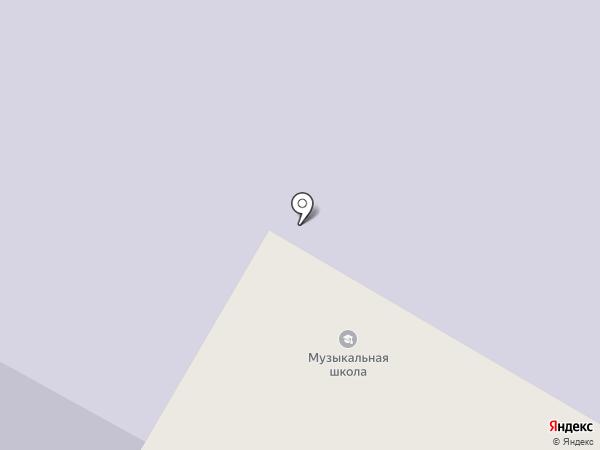 Детская музыкальная школа на карте Норильска