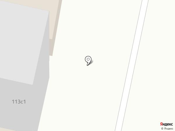 Норд-Моторс на карте Норильска