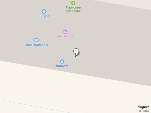 Магазин шапок на карте Норильска