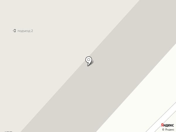 Пенный дворик на карте Норильска