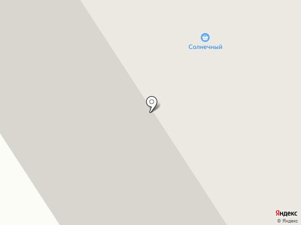 Солнечный на карте Норильска