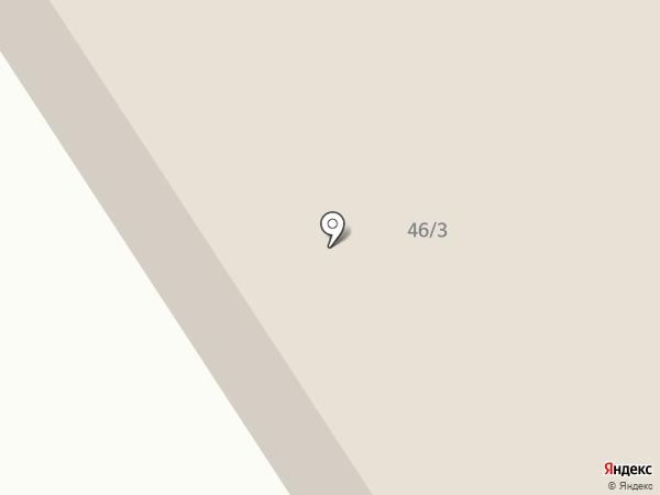 Василек на карте Норильска