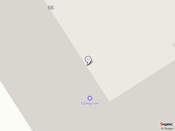 Гранд-Пак на карте Норильска