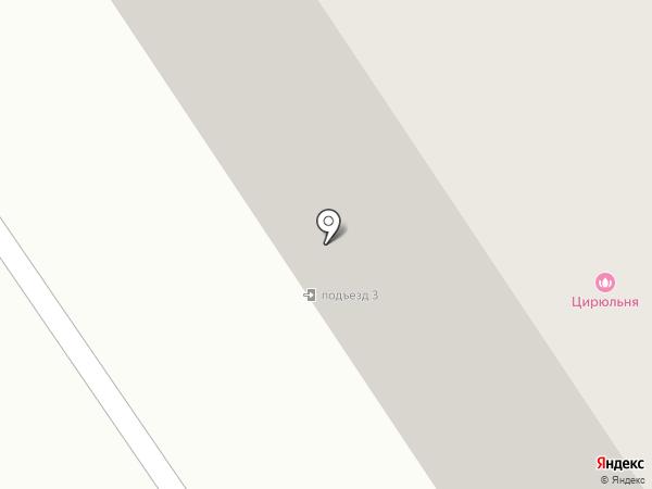 Цирюльня на карте Норильска