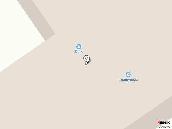 Дако на карте Норильска