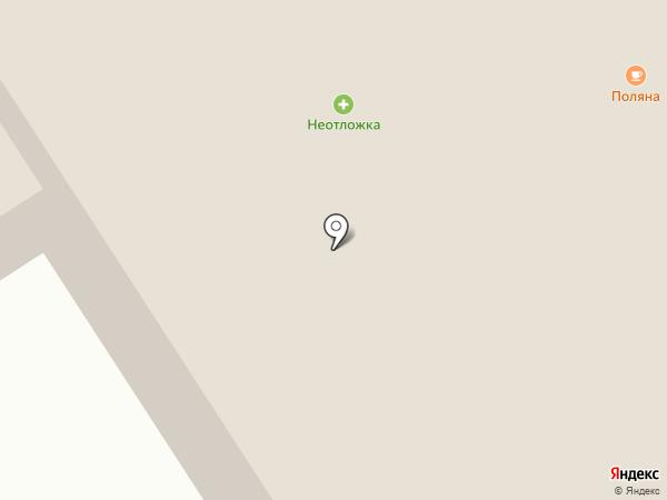 Поляна на карте Норильска