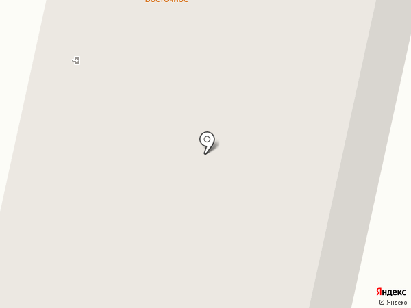 Восточное на карте Норильска
