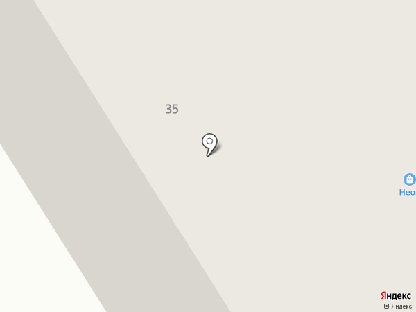Кокос на карте Норильска