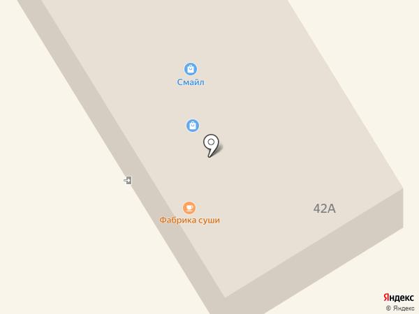 Продуктовый магазин на Ленинском проспекте на карте Норильска