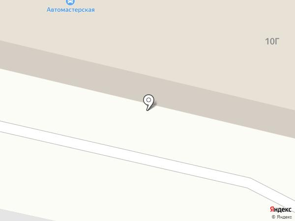 Автомастерская на карте Норильска