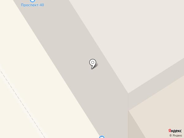 Проспект 40 на карте Норильска