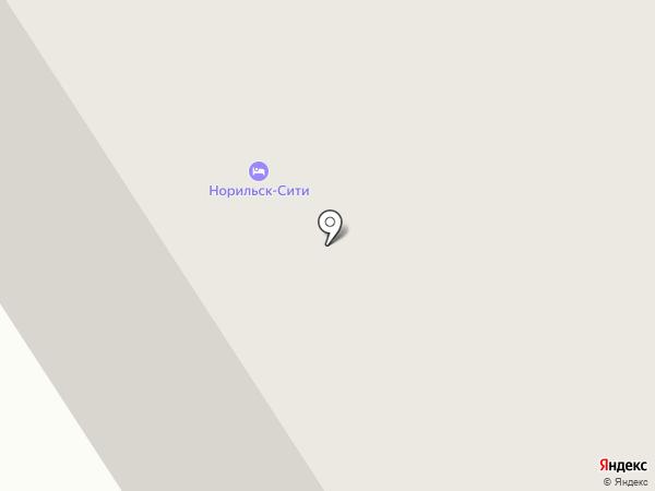 Барби-Холл на карте Норильска