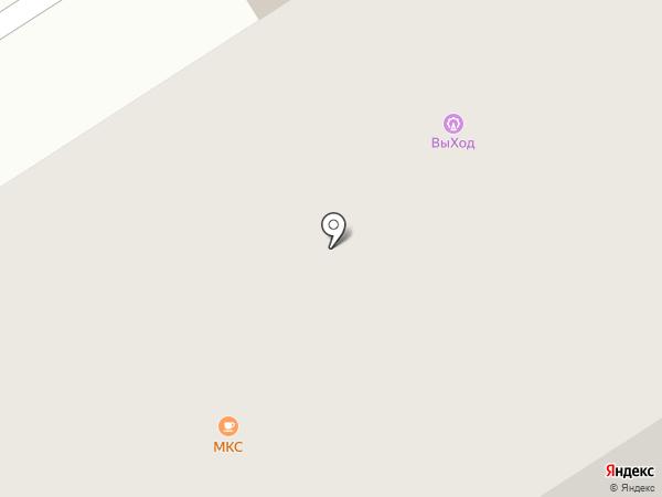 Парус на карте Норильска