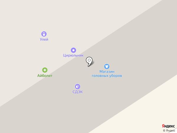 Айболит на карте Норильска