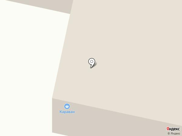 Караван на карте Норильска
