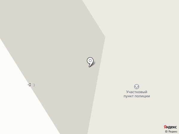 Участковый пункт полиции №4 на карте Норильска
