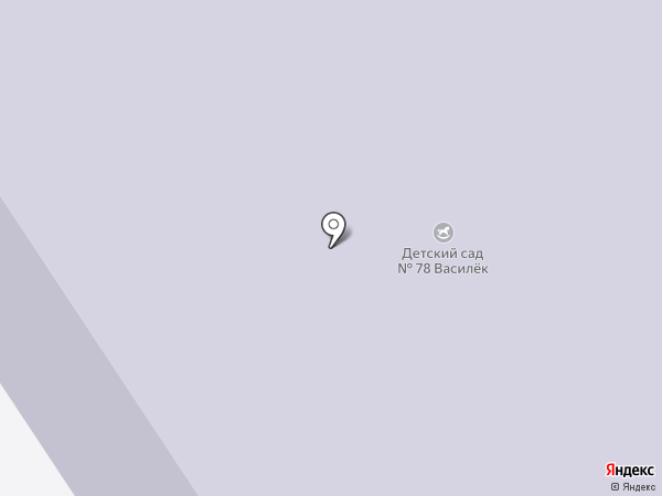 Детский сад №78, Василек на карте Норильска