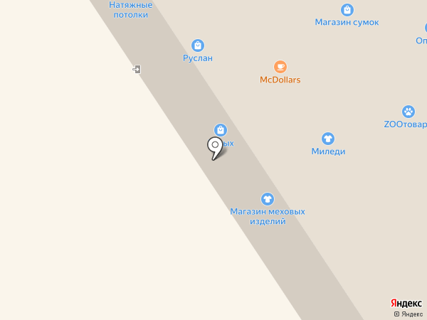 Иголочка на карте Норильска
