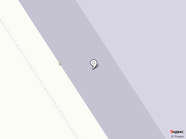 Средняя общеобразовательная школа №8 на карте Норильска