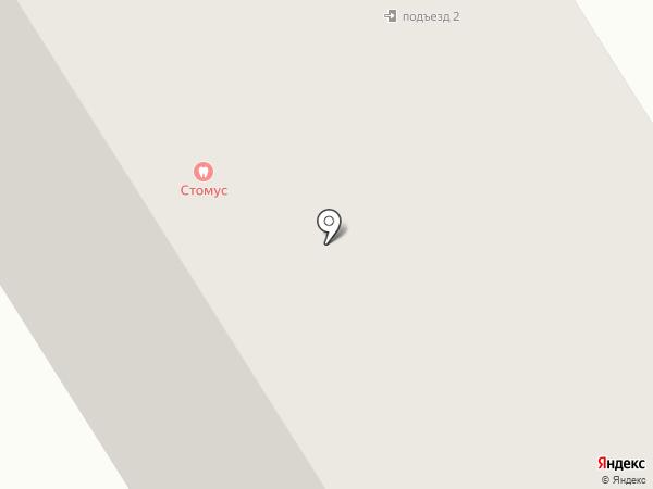 Ёлка на карте Норильска