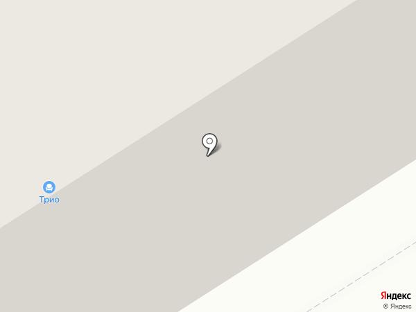 ТРИО на карте Норильска