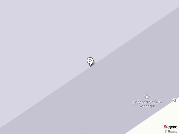 Норильский педагогический колледж на карте Норильска
