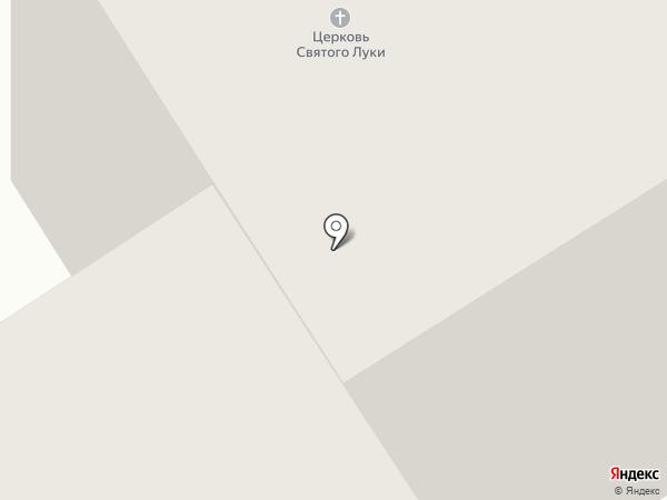 Храм Святителя Луки Архиепископа Красноярского на карте Норильска