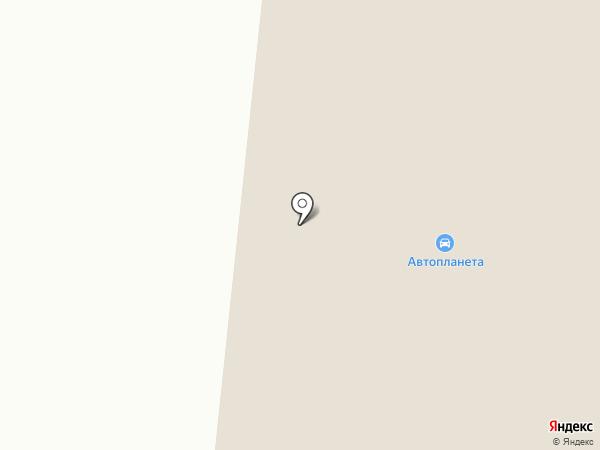 Автопланета на карте Норильска