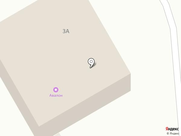 Авалон на карте Норильска