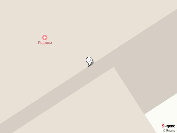Городская больница №2 на карте Норильска