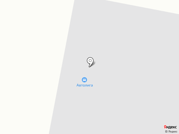 АвтоЛига на карте Норильска
