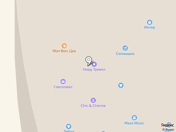 Maxx Music на карте Норильска