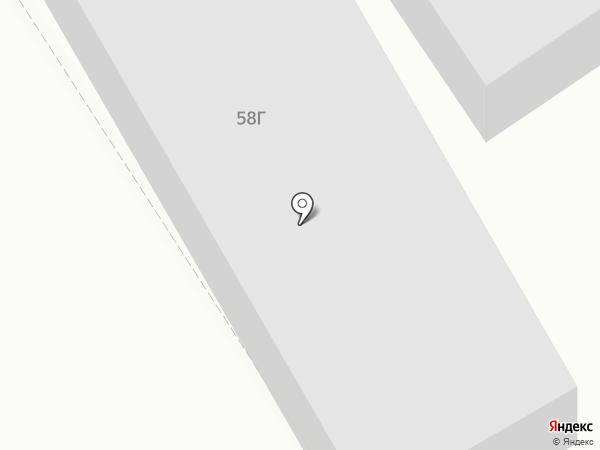 Шиномонтажная мастерская на ул. Лауреатов на карте Норильска