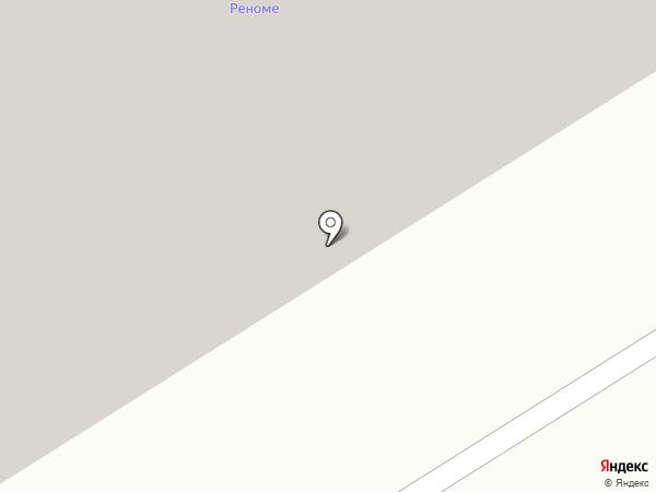 Мерседес на карте Норильска