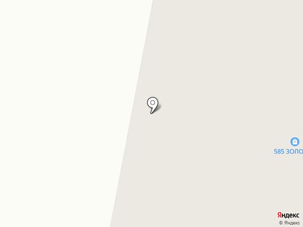 Золотой на карте Норильска