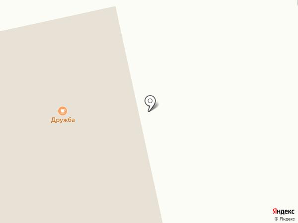 Дружба на карте Норильска