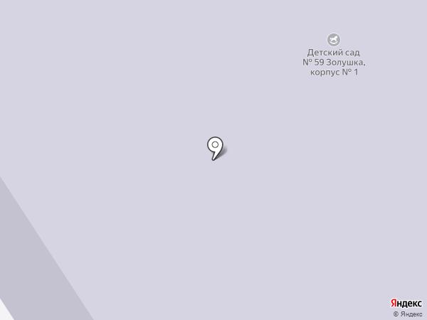 Детский сад №59 на карте Норильска