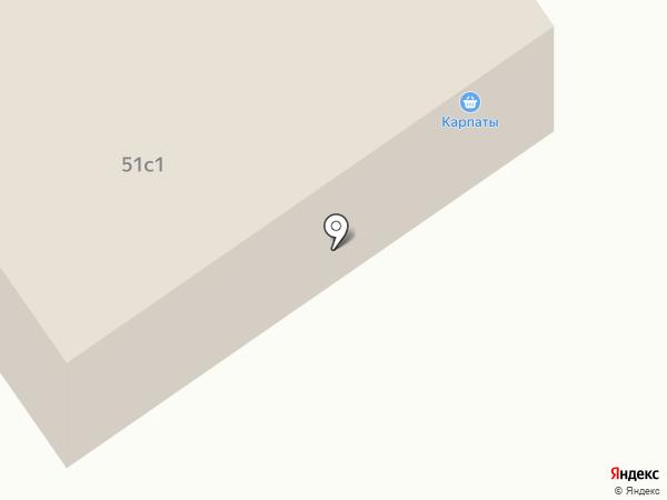 Карпаты на карте Норильска