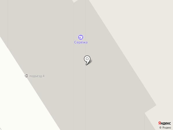Сережа на карте Норильска