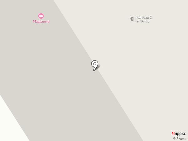 Полюс на карте Норильска