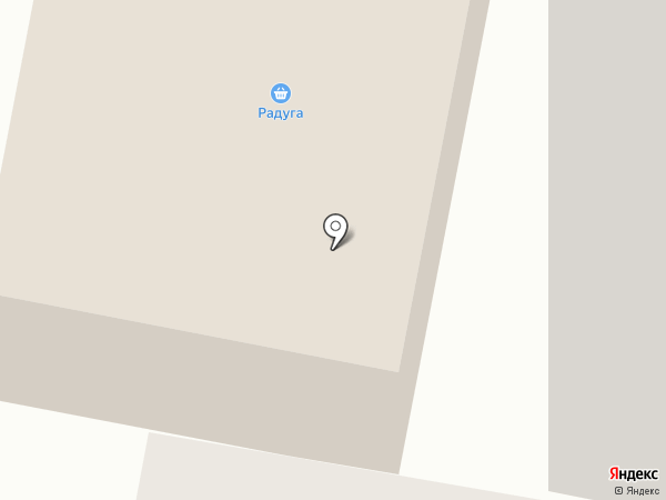 Радуга на карте Норильска