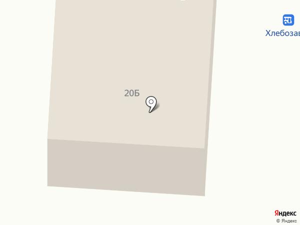 Остановка Хлебозавод на карте Норильска